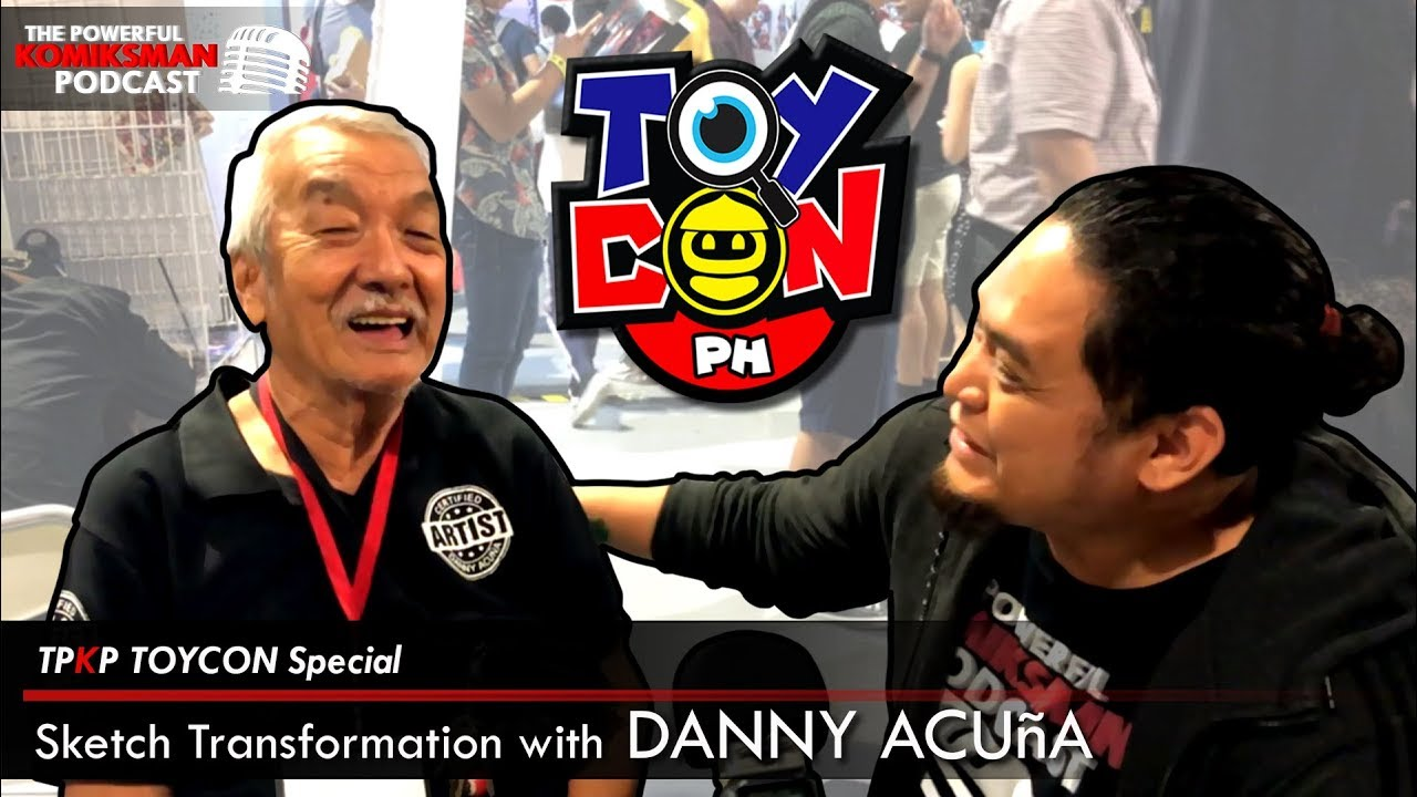 Live Sketch Transformation With Mang Danny Acuña   TPKP TOYCON Special