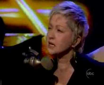 Cyndi Lauper Sings True Colors  on The