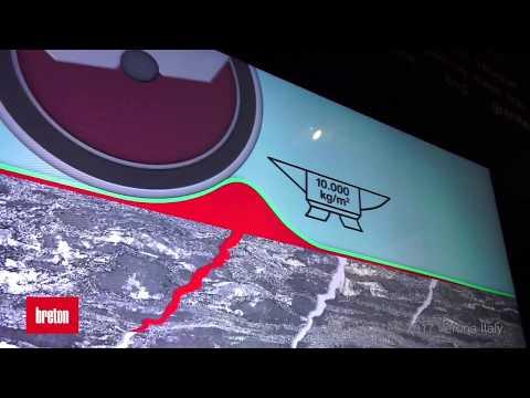 [Marmomac 2017] Breton Booth: Luxmaster 5000 TANGO, Resin Drone, Hyperock