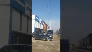Видео Новый текстильный ряд на рынке Дордой Бишкек