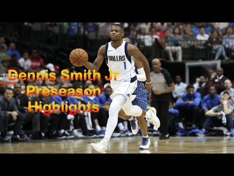 Dennis Smith Jr. Full Preseason Highlights