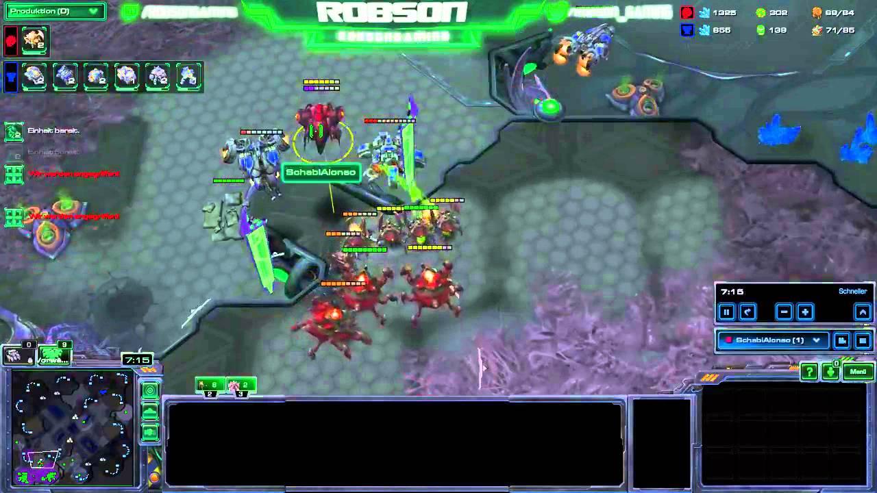 Starcraft  Build Tvz