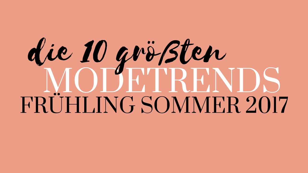modetrends 2017 fr hling sommer die 10 gr ten trends modeblog sommertrends mode trends. Black Bedroom Furniture Sets. Home Design Ideas