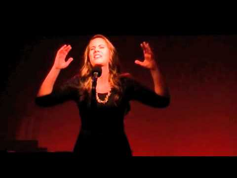 Shannon Oliver singing 'There's A Fine Fine Line'