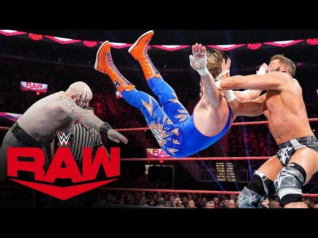 The Viking Raiders vs. Curt Hawkins & Zack Ryder: Raw, Oct. 21, 2019