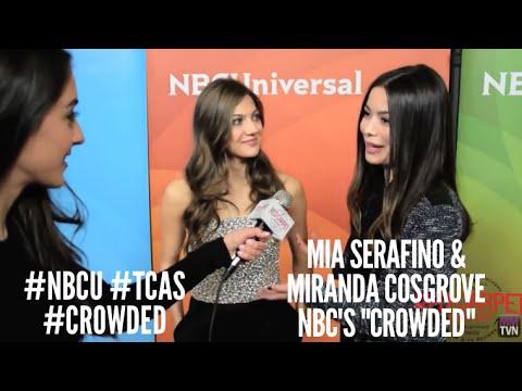 Mia Serafino & Miranda Cosgrove Crowded at NBCUniversal's Winter 2016 Press TCA Tour NBCU TCAs
