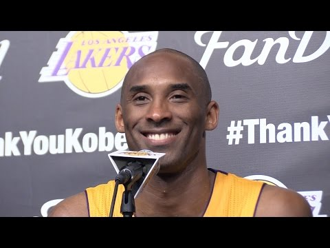 Kobe Bryant's final Lakers press conference