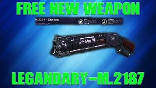 *FREE WEAPON!!! | M.2187 - SHADOW | OVERPOWERED!? | CALL OF DUTY INFINITE WARFARE