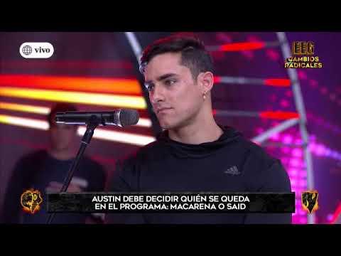 Austin Palao eliminó a Macarena Vélez de Esto es Guerra