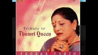 Shoba Gurtu (Yaad Piya Ki Aaye) with English translations