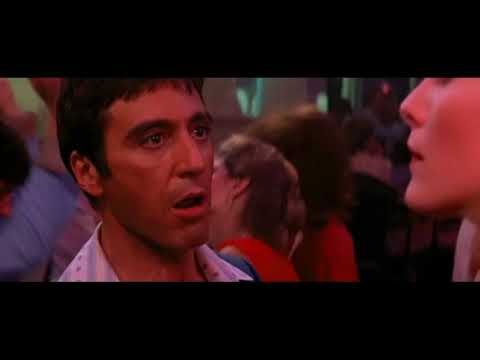 Scarface Tony Talking To Elvira Babylon Dance Scene Youtube