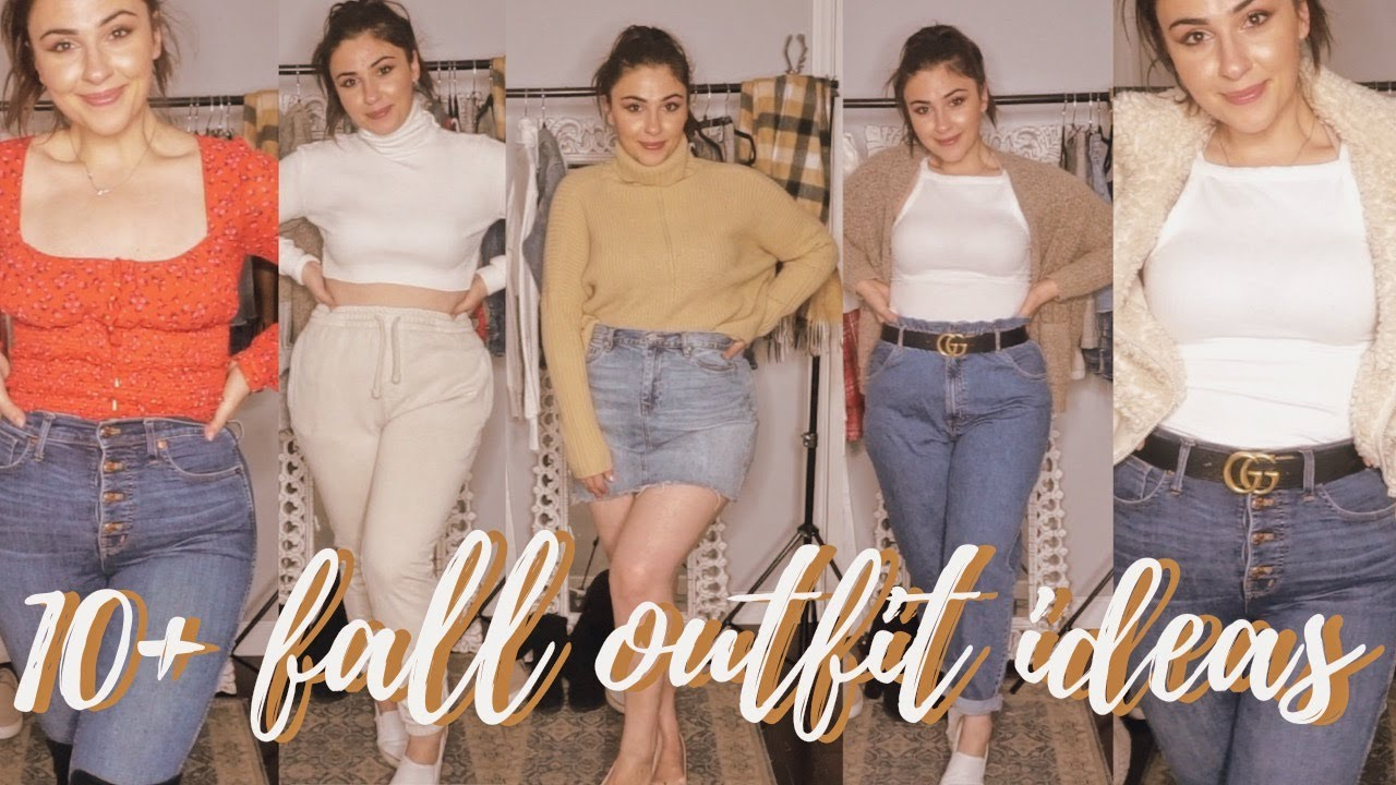 [VIDEO] - 10+ FALL OUTFIT IDEAS for CURVY GIRLS | LOOKBOOK | 8
