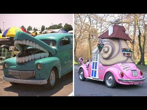 60 безумных автомобилей и автотюнингов