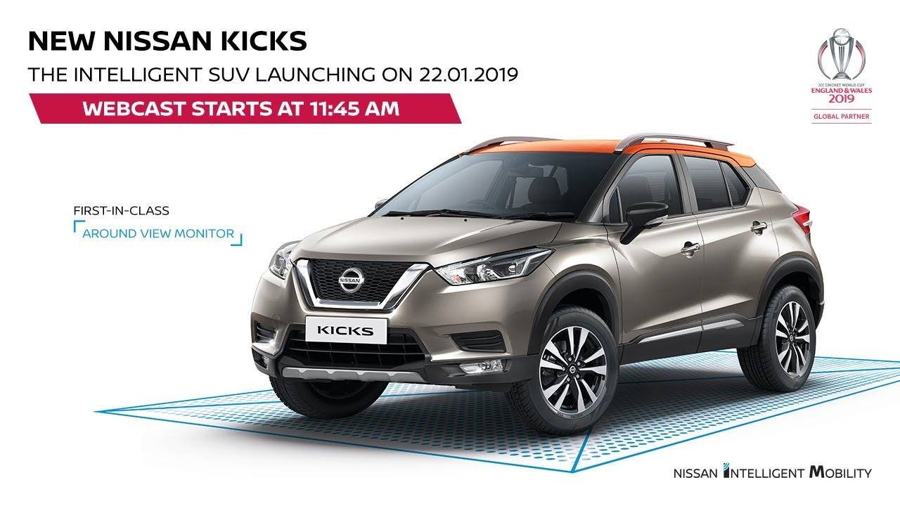 Nissan Kicks Compact Suv Launch Live Price Details Specifications