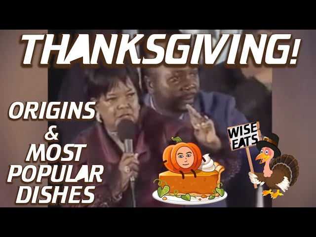 The Very First Thanksgiving + America's Favorite Dishes Ranked (Podcast Clip Episode 17)