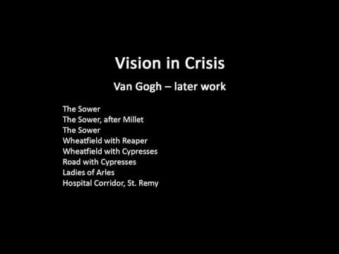 A history of modern art in 73 lectures: lecture 7 (Van Gogh)
