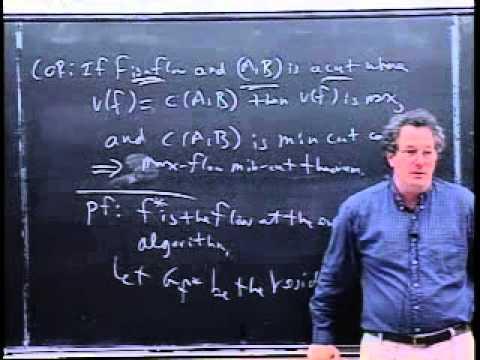 Continuation of the Preflow-Push Network Flow Algorithm