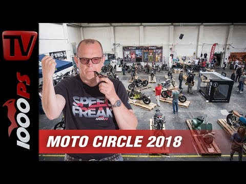 Geniale Umbauten, freie Geister, top Event - Moto Circle 2018 - Custombike Show mitten in Wien