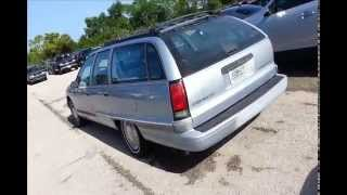1994 Chevy Caprice wagon  left for dead