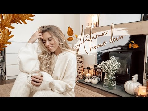 DECORATE WITH ME AUTUMN HOUSE TOUR FALL DECOR