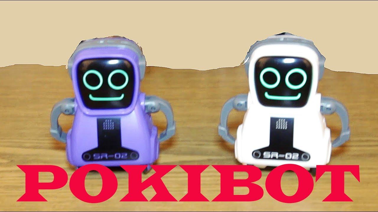 POKIBOT robot Покибот робот SILVERLIT POKIBOT ROBOT - YouTube