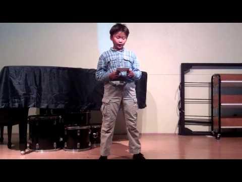 Aidan Pang's Speech Presentation