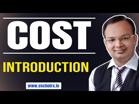 #1| Cost | Meaning of Cost or Economic Cost