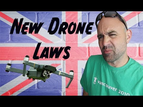 UK Drone Bill 2018 - What You Need To Know In 3 Minutes(ish)