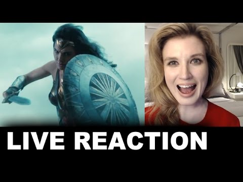 "Wonder Woman TV Spot ""Power"" REACTION"