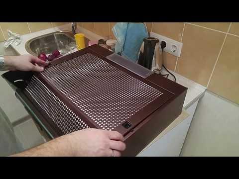 Установка и подключение кухонной вытяжки Elikor Davoline с угольным фильтром. Приобретена в Связном