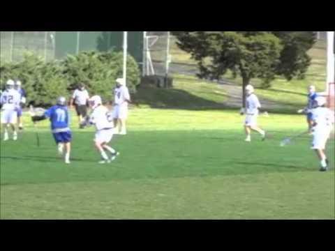 Justin Bradley High School Lacrosse Highlights