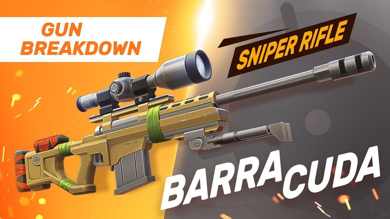 Top Sniper Rifle - Barracuda - Guns of Boom