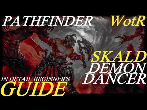 Pathfinder: WotR - Demon Dancer Skald Starting Build - Beginner's Guide [2021] [1080p HD] |