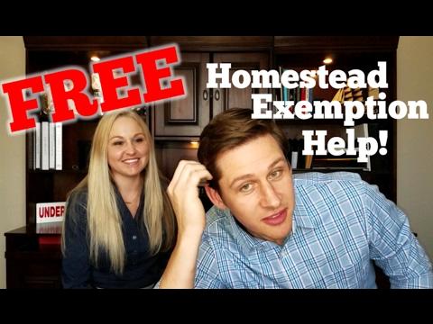Free Tarrant County Homestead Exemption