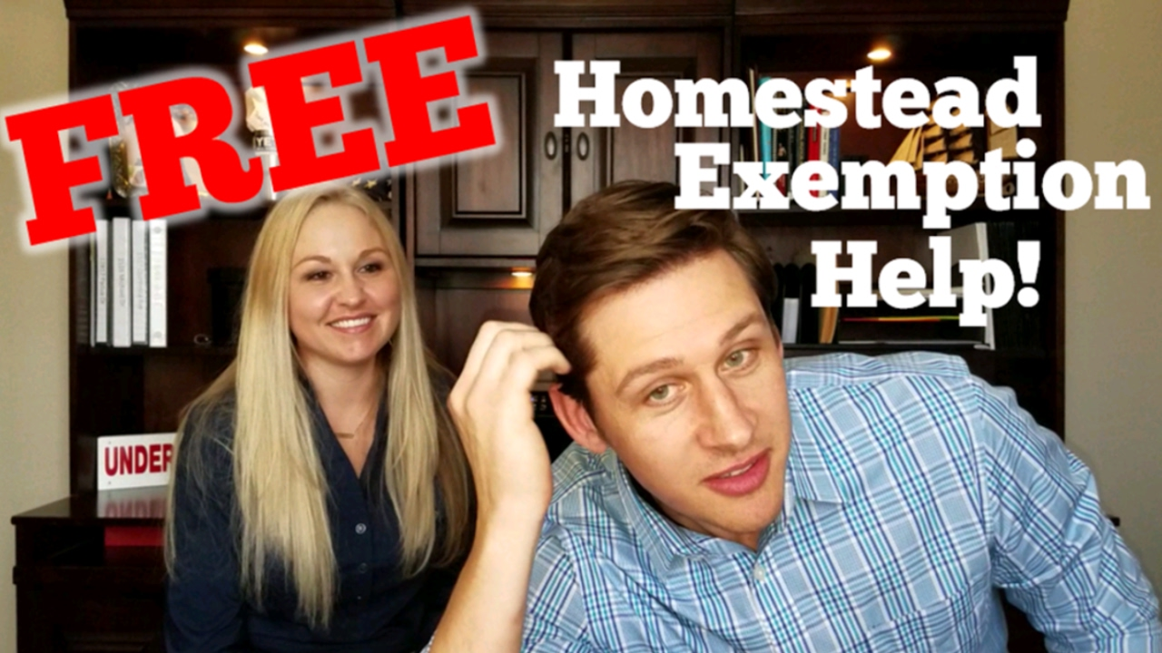 Free Tarrant County Homestead Exemption - YouTube