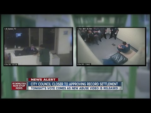 Record jail abuse settlement approved as new video surfaces