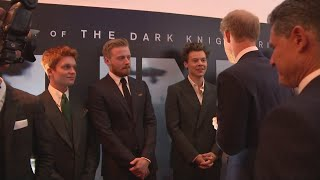 Prince Harry meets Harry Styles at 'Dunkirk' premiere