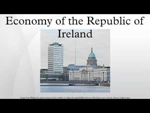 Economy of the Republic of Ireland