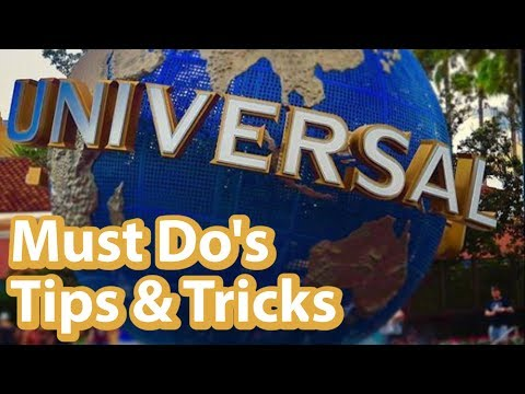 Must Do's When Visiting Universal Orlando | Tips and Tricks for a Fun Time