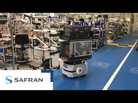 Safran puts into operation its first intelligent autonomous robot
