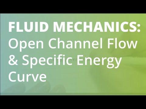 Specific Energy Curve Open Channel Flow (1/2)   Fluid Mechanics