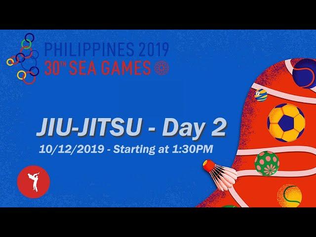 SEA Games 2019 - JIU-JITSU - Day 2