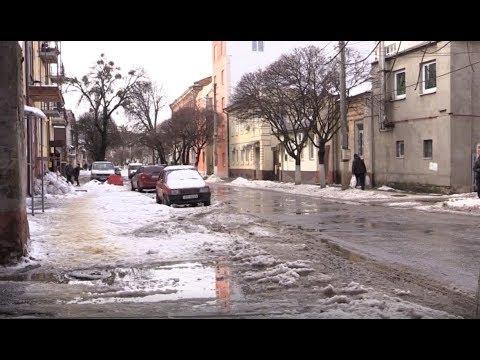 АТН Харьков: В Харькове стремительно тает снег. Люди жалуются на неубранные улицы - 14.02.2020