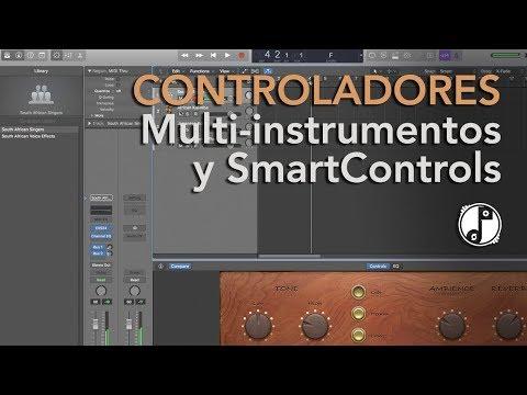 TUTORIAL #17 | Controladores: Multi-instrumentos, Split, Asignación y Smart Controls en Logic