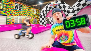 SUPER WAREHOUSE OBSTACLE COURSE CHALLENGE!