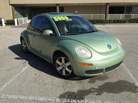 2006 Volkswagen Beetle Green