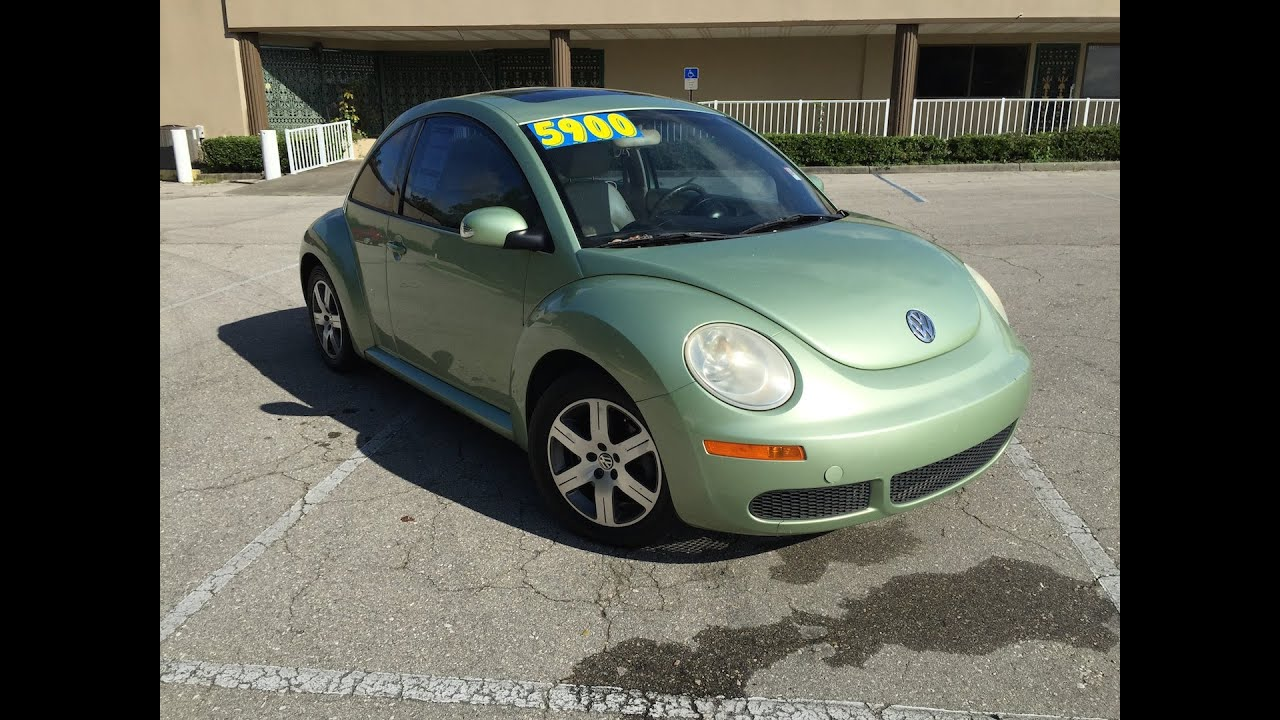 2006 volkswagen beetle green youtube. Black Bedroom Furniture Sets. Home Design Ideas