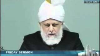 Friday Sermon by His Holiness Mirza Masroor Ahmad Khalifatul Masih V on 14th January 2011