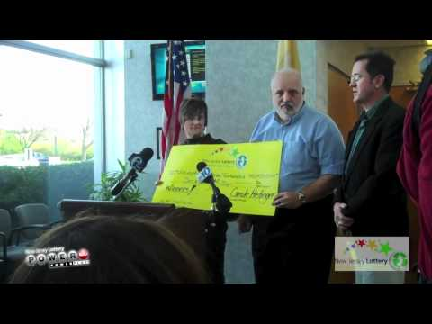 New Jersey Lottery 70 Million Dollar Powerball Press Conference