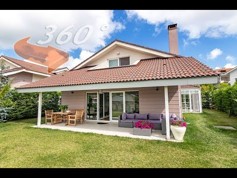 Sarıyer, Zekeriyaköy' de Satılık Harika 350m2 Müstakil Villa 360 Derece Sanal Tur